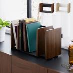ヴィンテージ調 ブックスタンド 本立て スライド 木製 卓上 本棚 シェルフ マガジンラック スライドブックスタンド 整理 整頓 本 代引不可