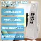 扇風機 羽のない扇風機 3段階 風量切替 縦型 首振り ハンドル式 タワーファン ターボジェットファン FD-80F 代引不可
