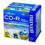 日立マクセル データ用CD-R 20枚 CDR700.WP.S1P20S ポイント10倍