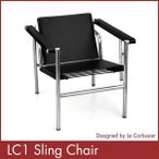 ル コルビジェ LC1 スリングチェアー 総本革 Le Corbusier ミッドセンチュリー 1年保証付 送料無料