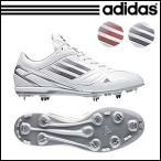 adidas アディダス アディゼロ フィックスメタル スパイク 野球シューズ low g56052 ホワイト×ネイビー g59361 ホワイト×レッド ポイント10倍