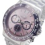 エルジン ELGIN クオーツ クロノ メンズ 腕時計 EG-002-P ピンク