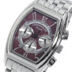 エルジン ELGIN クオーツ メンズ クロノ 腕時計 FK1403S-R レッド