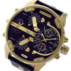 ディーゼル DIESEL ミスターダディ Mr. Daddy クオーツ クロノ メンズ 腕時計 DZ7371 ブラック
