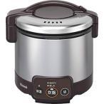 ショッピング炊飯器 リンナイ ガス炊飯器 こがまる RR-030VM DB 13A 都市ガス 3合炊き 代引不可