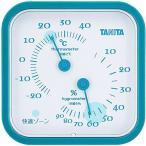 タニタ TANITA アナログ温湿度計 置き掛け両用タイプ/マグネット付 ブルー TT-557-BL