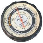 【SPALDING】スポルディング 気圧表示付高度計 ソフトケース付 日本製 NO610 /20点入り 代引不可