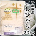 Aランク 28年度産 千葉県産 こしひかり 20kg 特別栽培米 新米 ポイント10倍
