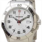 WENGER ウェンガー 腕時計 WEN70489 メンズ ALPINE ホワイト/シルバー ポイント10倍