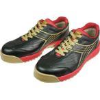 ディアドラ DIADORA 安全作業靴 ピーコック 黒 26.0cm PC22-260 安全靴・作業靴・プロテクティブスニーカー