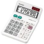 ショッピングシャープ シャープ 電卓ミニ ナイスサイズ EL-771J-X