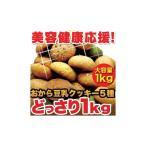 ほろっと柔らか ヘルシー&DIET応援 新感覚満腹おから豆乳ソフトクッキー1kg ポイント10倍