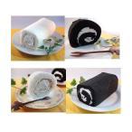 白黒ロールケーキセット 2本〔代引不可〕