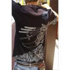 ショッピング戦国武将 戦国武将Tシャツ 〔加藤清正〕 Sサイズ 半袖 綿100% ブラック(黒) 〔Uネック おもしろ〕