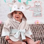 Baby Aspen ベビーアスペン フード付きベビーバスローブ 幼児 贈り物 プレゼント 出産祝い 結婚祝い お祝い お風呂 バスタオル