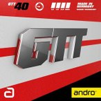 andro アンドロ 裏ソフトラバー GTT 40 ジーティーティー 40 112276 カラー ブラック サイズ 1.6