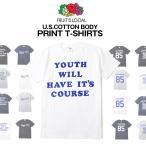 FRUIT OF THE LOOM プリント Tシャツ 完全別注 USAコットン使用 Begin7月号掲載」 Tシャツ/ メンズ アメカジ フルーツオブザルーム