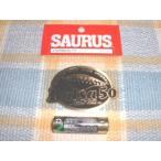 SAURUS/ザウルス!Balsa50/バルサ50・楕円黒金プレートステッカー