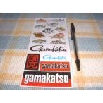 Gamakatsu/がまかつ!さかな君シートステッカー(珍品)