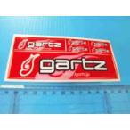 GARTZ/ガルツ!ウキメーカーのシートステッカー