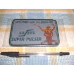 UFM/ウエダプロSuperPulser!スーパーパルサーのワッペン(四角)