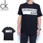 カルバン クライン Tシャツ メンズ ジーンズ Calvin Klein Jeans Box Logo 41J7542