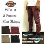 ディッキーズ/チノパン/スキニー/メンズ/WP810/Slim Skinny 5-Pocket Twill Pant/ワークパンツ