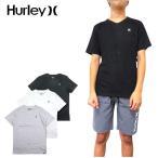 ショッピングhurley ハーレー キッズ Vネック Tシャツ BOYS STAPLE V-NECK TEE 半袖