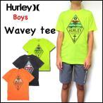 ショッピングhurley ハーレー キッズ Tシャツ BOYS WAVEY THROUGH TEE 半袖