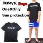 ショッピングhurley ハーレー キッズ 水着 ラッシュガード 半袖 BOYS ONE&ONLY SUN PROTECTION