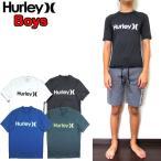ショッピングhurley ハーレー ラッシュガード 半袖 キッズ ボーイズ BOYS ONE&ONLY SURF SHIRT