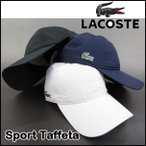 ラコステ メンズ キャップ 帽子 RK2447 Sport Taffeta Cap