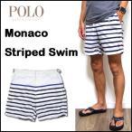 ラルフローレン 水着 メンズ Monaco Striped Swim Trunk