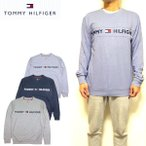 トミーヒルフィガー メンズ トレーナー TOMMY HILFIGER CREW T 09T3754 ルームウェアー 部屋着