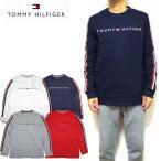 トミーヒルフィガー ロンT メンズ 長袖 Tシャツ TOMMY HILFIGER NASH LS TEE ロゴ 20新作