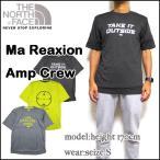 ショッピングFACE ノースフェイス Tシャツ メンズ MA REAXION AMP CREW TEE ティーシャツ ロゴ