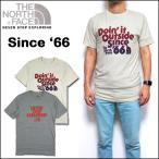 ノースフェイス Tシャツ メンズ SINCE '66 TEE スリム