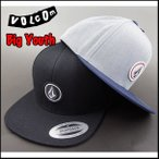 ショッピングvolcom ボルコム/キャップ/キッズ/帽子/ジュニア/YOUTH QUATER SNAP BACK CAP