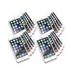 スマートフォン ノートパッド 20冊セット iPhone6 メモ帳 スマメモ 罫線 文房具 文具 SMART PHONE MEMO
