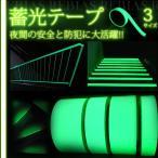 蓄光テープ 10m DIY 夜間 安全 防犯 階段 手すり インテリア 看板 TAPE 10mm 20mm 50mm 3本 セット