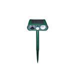 害獣駆除 超音波 ソーラー 太陽光パネル ネコ カラス ネズミ もぐら アニマル 小動物 KEEP OFF ANIMAL