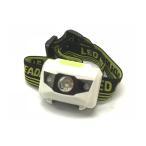 高輝度 角型 3LED ヘッドライト 超軽量 超強力 フラッシュ 点滅 ヘッドランプ LED 作業灯