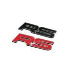 汎用 ステッカー RS 3D 立体 エンブレム 走り屋 ドリフト クール カスタム ステッカー カーステッカー