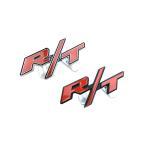 R/T エンブレム ステー ver チャレンジャー ROAD TRACK カスタム パーツ ダッジ カー用品