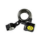アラーム ワイヤーロック 振動 切断 検知 警報機能付 最大 110dB 鍵 チェーン 盗難防止 自転車 バイク