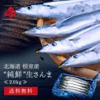 北海道産 生サンマ さんま 秋刀魚 2kg 特大サイズ (約13〜14尾) 一尾130g以上保...