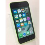 【auSIMロック】 iPhone5C 16GB グリーン ME544J/A