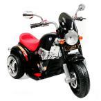 電動乗用バイク1508 TR1508A 電動乗用バイク アメリカン バイク 乗用玩具 子供用三輪車 ライト点灯 クラクション付き ブラック 代引不可