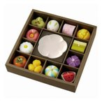 カメヤマ 和菓子型キャンドル・皿セット 4766-071