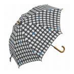 mikuni ミクニ 長傘 Umbrella ギンガム ブラック 60cm GG-04991 傘 雨傘 梅雨 雨 カサ おしゃれ 代引不可